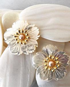 The Blakey earrings by Ken Samudio just