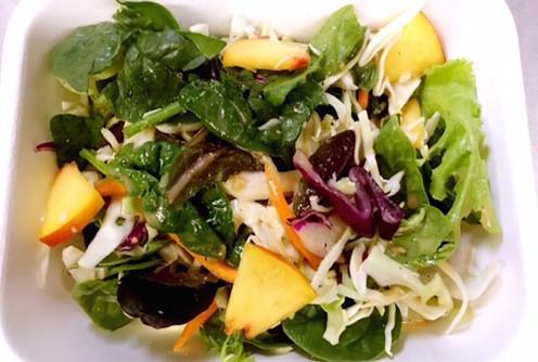 Seasonal Mixed Green Salad