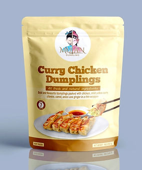 mulan Dumpling curry chicken dumplings