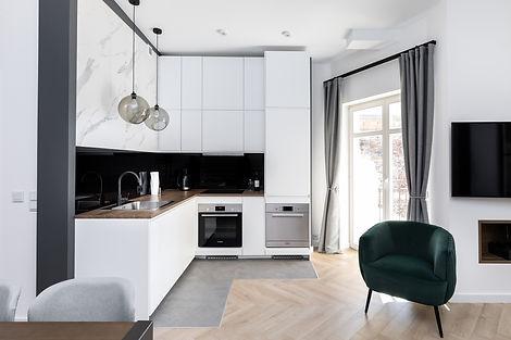 appartement investissement immobilier cracovie Kazimierz cuisine