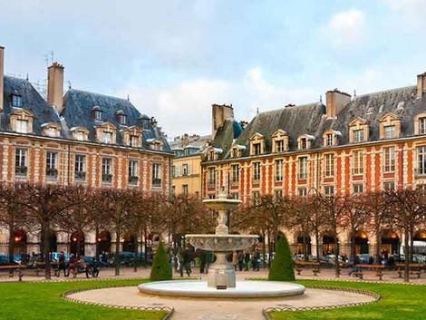 Les façades d'immeubles à Paris - Le Style Louis XIII (1595-1660)
