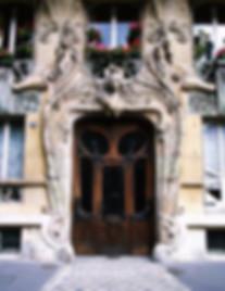 porte immobilier epi façade paris architecture histoire art nouveau