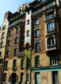 Castel berganger immobilir epi façade paris architecture histoire art nouveau