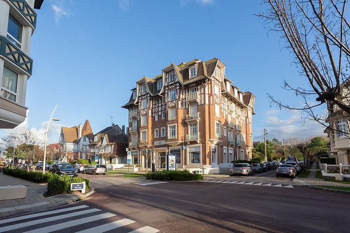appartement vendu par Story's Immobilier dans résidence de standing dans le triangle d'or du Touquet