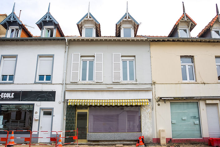 façade petit immeuble à Etaples vendue par Story's Immobilier