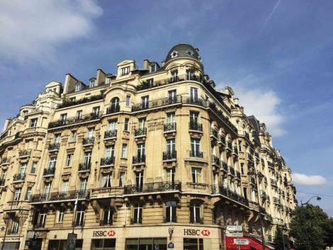 Les façades d'immeubles à Paris - Les derniers feus Haussmanniens (1895-1914)
