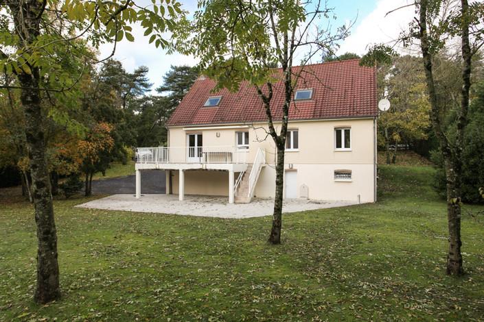 façade villa Hardelot vendue par Story's Immobilier