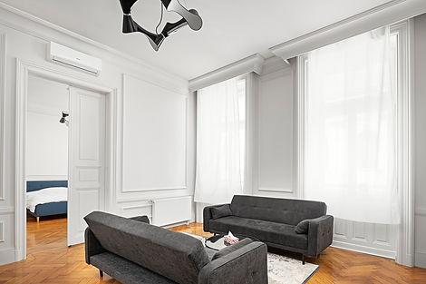 salle à manger appartement haut de gamme andrássy budapest
