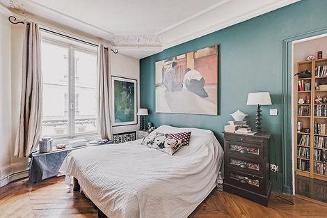 Chambre appartement vendu par Story's boulevard Voltaire Paris