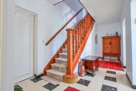 Entrée villa traditionnelle avec jardin secteur forêt du Touquet vendue par Story's Immobilier