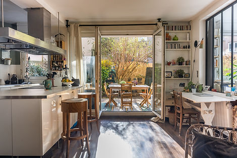 Terrasse Appartement Buttes Chaumont