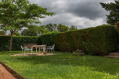 Terrasse villa vendue dans le centre de Cluny par Story's Immobilier