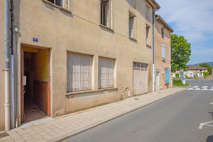 Maison à rénover dans le centre ville de Cluny (71)