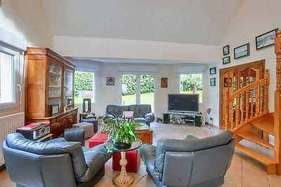 salle à manger villa Hardelot vendue par Story's Immobilier