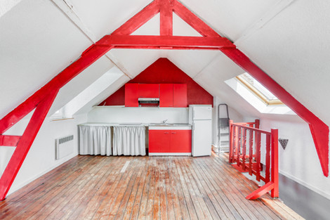 séjour et dernier étage petit immeuble à Etaples vendue par Story's Immobilier