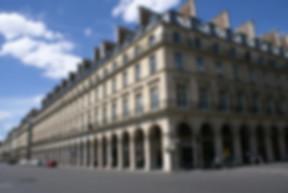 Façade immeuble rue de rivoli style empire architecture histoire