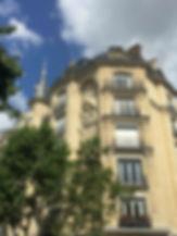 horloge statue immobilier epi façade paris architecture histoire art nouveau