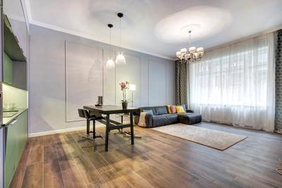 Séjour appartement rue Horánszky Budapest vendu par Story's Immobilier