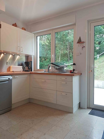 Cuisine villa vendue par Story's Immobilier à Hardelot.