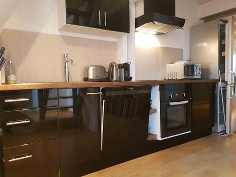 Cuisine appartement vendue par Story's Immobilier au Westminster au Touquet Paris Place