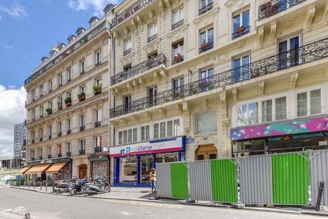 Façade appartement rue des bourdonnais Paris Les Halles vendu par Story's