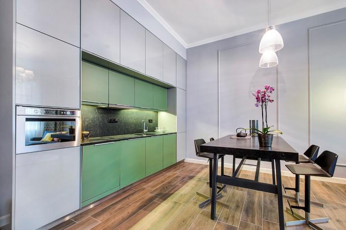Cuisine appartement rue Horánszky Budapest vendu par Story's Immobilier