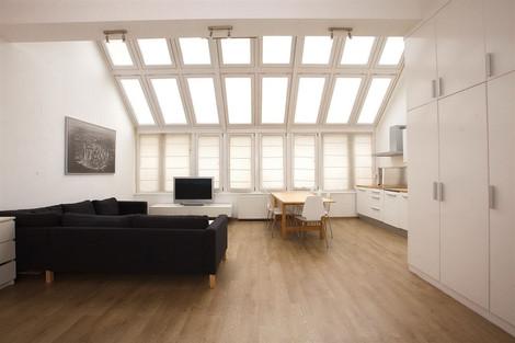 Living appartement à Budapest rue Vaci vendu par Story's