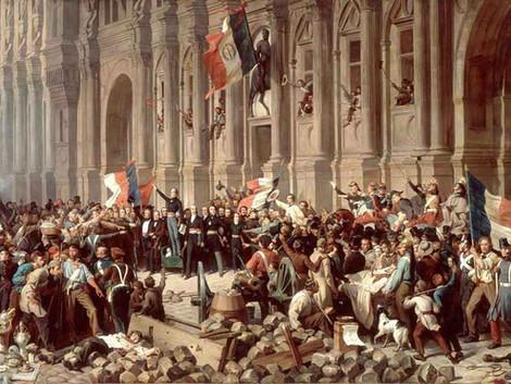 Les façades d'immeubles à Paris - L'immeuble Révolution (1790-1800)