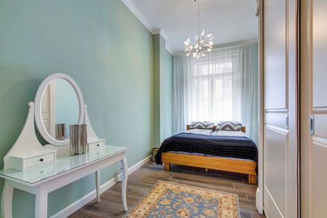 Chambre appartement rue Horánszky Budapest vendu par Story's Immobilier