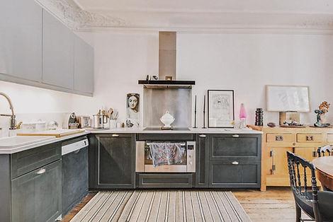 Cuisine appartement vendu par Story's boulevard Voltaire Paris