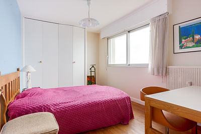 chambre appartement au Touquet face mer et vendu par Story's Immobilier