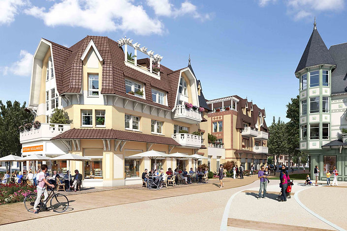Quentovic programme immobilier au Touquet appartement commercialisé par Story's Immobilier