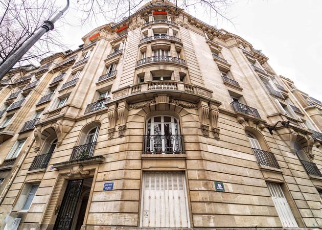 Façade immeuble avenue Junot d'un appartement familiale à vendre par Story's Immobilier