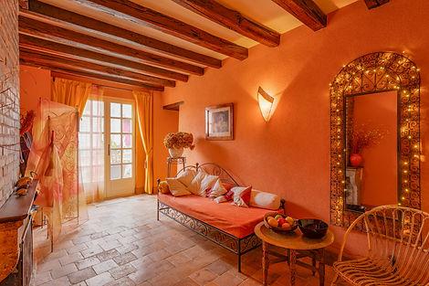 Salon maison à vendre dans le Clunisois par Story's Immobilier