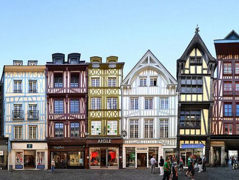 Les façades d'immeubles à Paris - Le Moyen-Âge