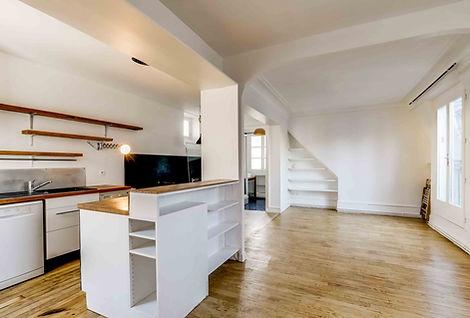 Cuisine appartement rue de Clignancourt paris 18 vendu par Story's