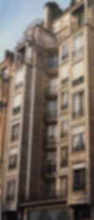 façade immeuble paris epi immobilier architecture style années trente 1930