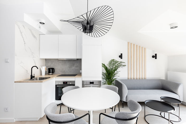 appartement investissement immobilier cracovie cuisine Podgórze