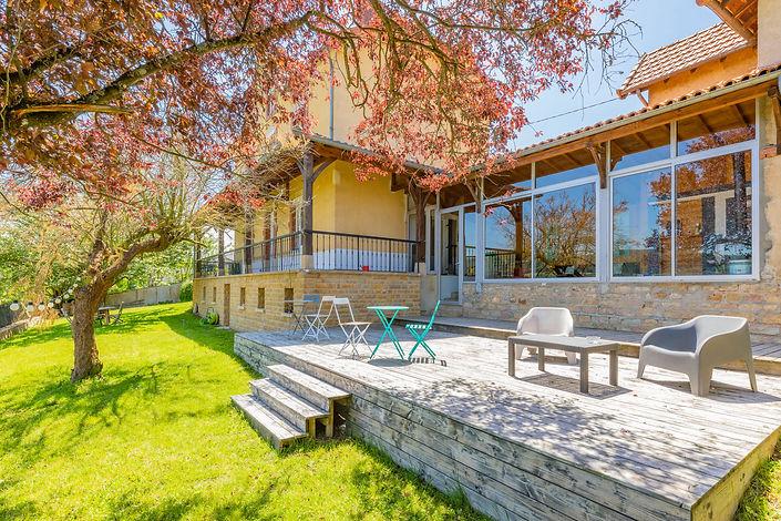 Magnifique maison avec vue dégagée dans le centre de Cluny