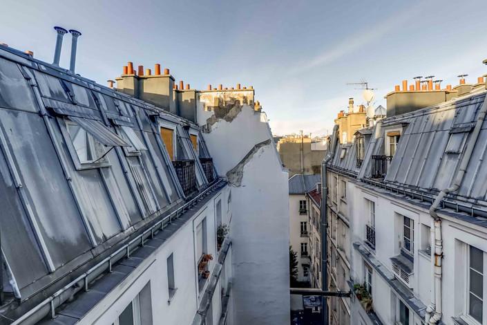 Cour immeuble appartement rue de Clignancourt paris 18 vendu par Story's