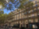 Façade immeuble Haussann architecture Paris immobilier