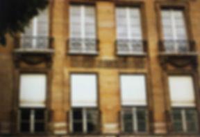 façade immeuble paris motifs grèque antique style lous XV