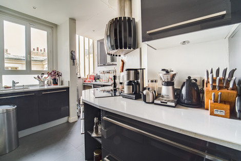 Cuisine appartement vendu par Story's village levis Paris