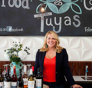 Tuyas owner, Glory Lagielski. Authentic Mexican Restaurant with a contemporary twist.