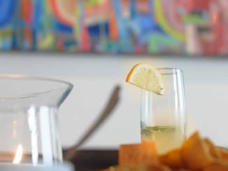 Homemade tortilla chips, food, art & community at Tuyas
