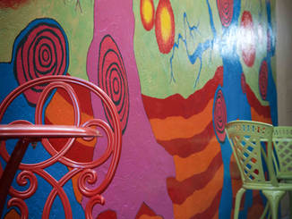 Tuyas Outdoor Mural