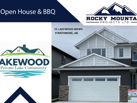 LAKEWOOD TO HOST A BBQ AND SHOWHOME OPEN HOUSE