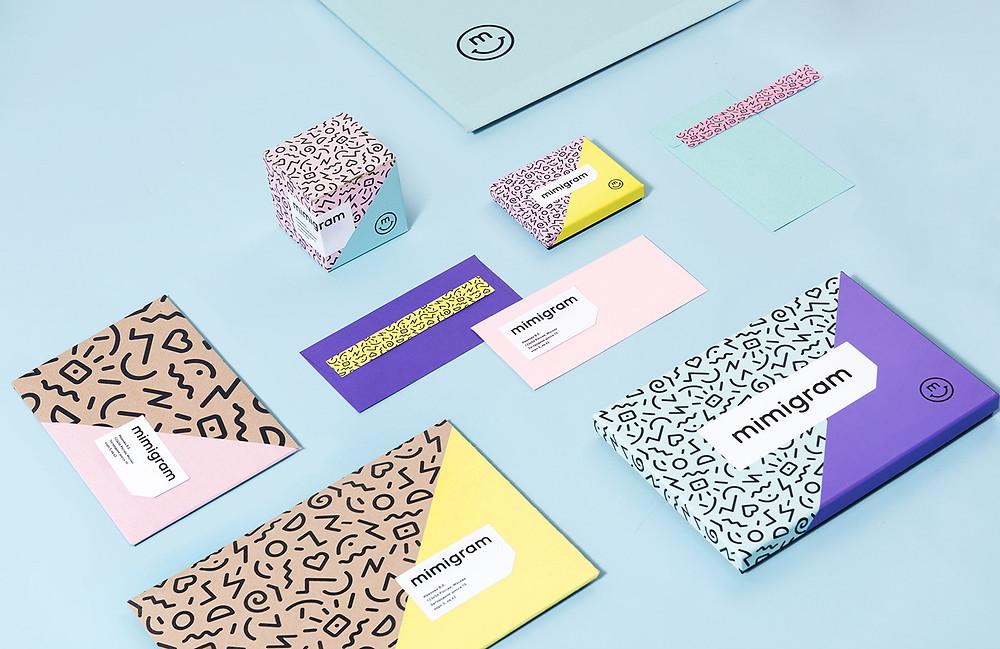 Branding Pattern mimigram Corporate Design
