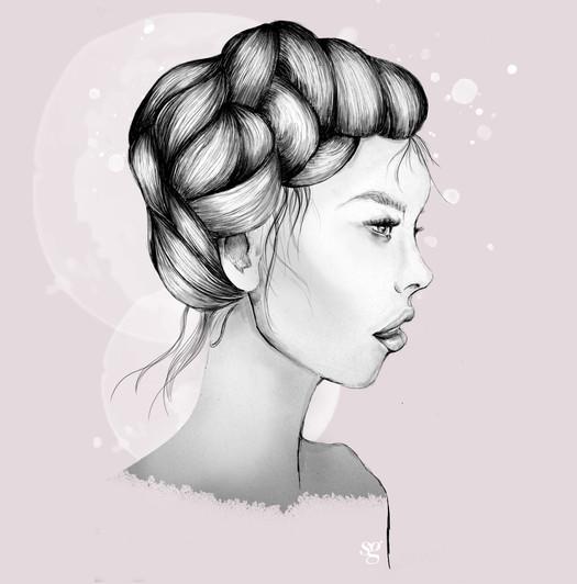 Bleistift & Digital Illustration