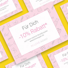 Gutschein-Postkarten